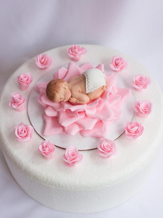 Rosen Baby Shower Kuchen Topper Madchen 14pcs Valentinstag Etsy