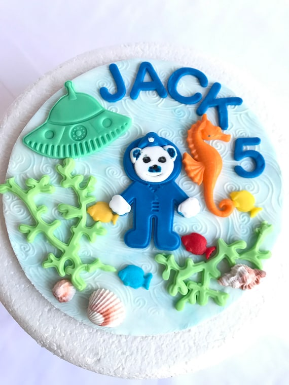 Under The Sea Fondant Cake Topper Octonauts 6 Edible Decorations