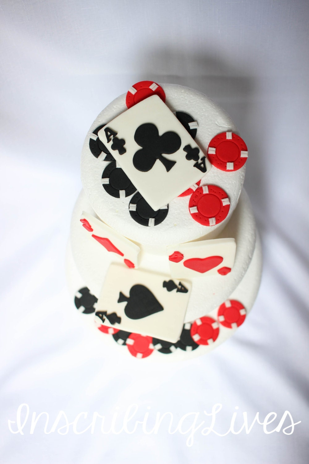 Casino Cake Topper 16pcs Casino Cake Decorations Edible Etsy