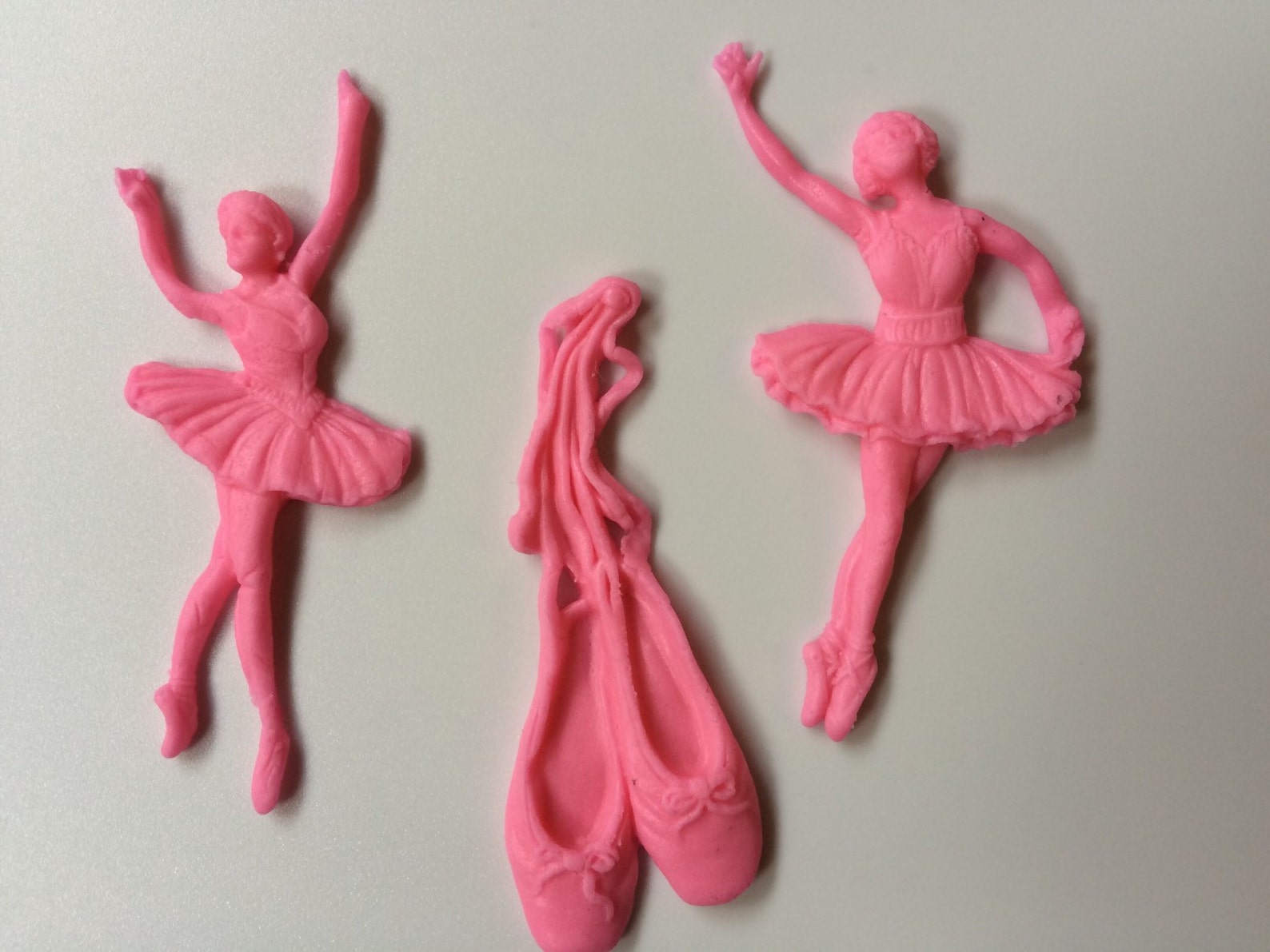 ballerina cake topper 12pcs ballet cupcake toppers edible fondant shoes cookie decorations birthday theme party favors