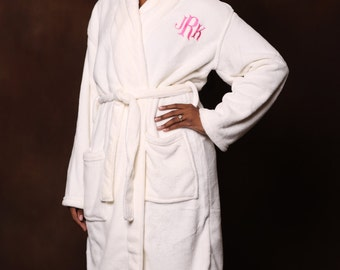 Bridesmaid Monogrammed Robe - Personalized Robe - Monogrammed Robe
