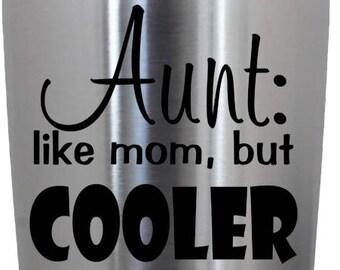 Aunt Vinyl Decal
