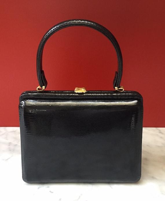 Italian lizard purse