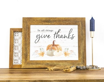 In All Things Give Thanks | SA325