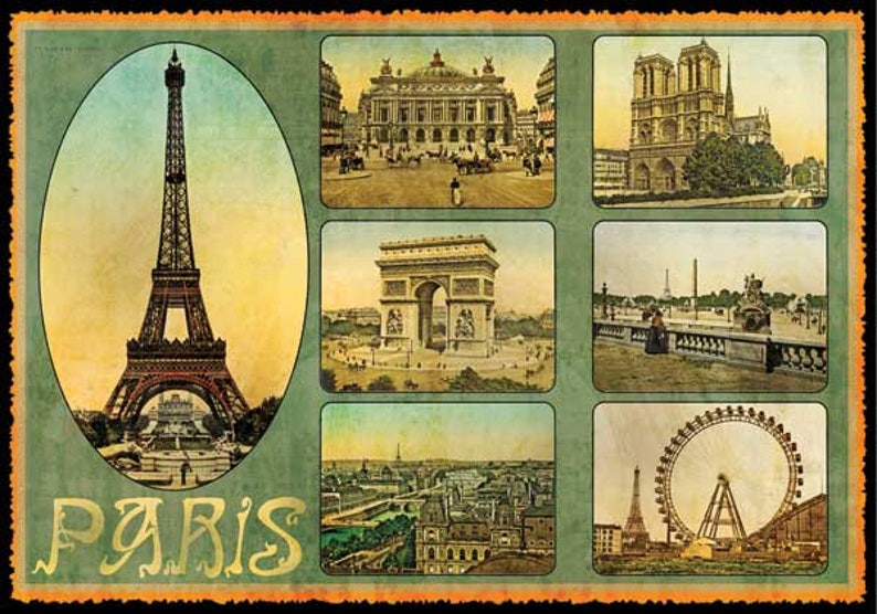Открытки парижского салона