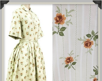 Shirtwaist dress | Etsy
