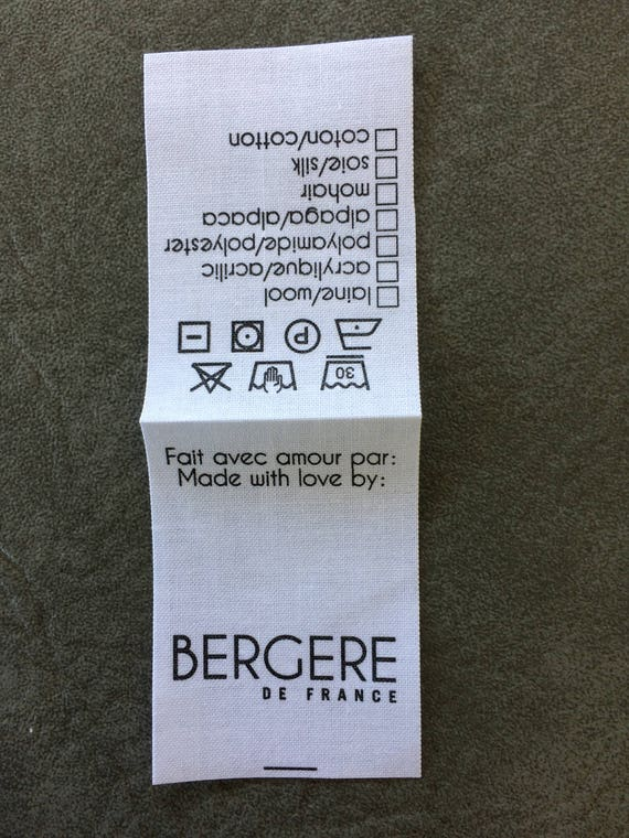 Personalized Garment Label Pre Printed Labels Knit And Etsy