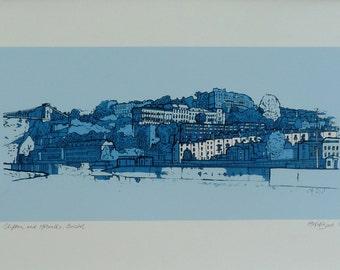 Clifton & Hotwells, Bristol - Limited Edition Contemporary Giclée Print