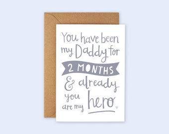 Father/'s Day Card New Baby Card Adoption Card Anniversary Card Shower New Dad Card Encouragement Card Watercolor Dad Card Love Card