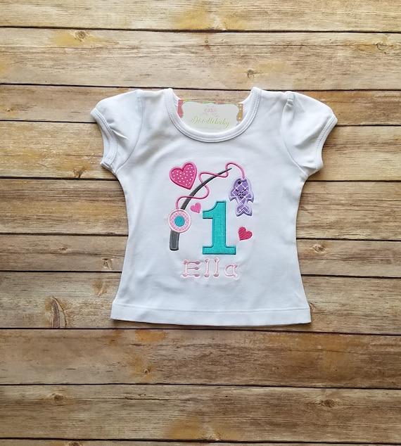 First Birthday Shirt Girl One