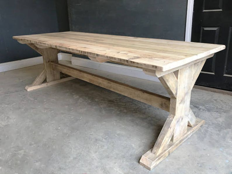 1900-1950 Antiques 5ft Old Rustic Reclaimed Pine Bench To Fit Under Table Made Any Size The Latest Fashion