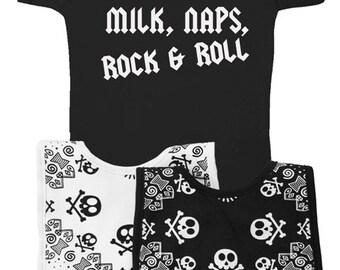 Oasis band custom baby vest print gift baby shower fan