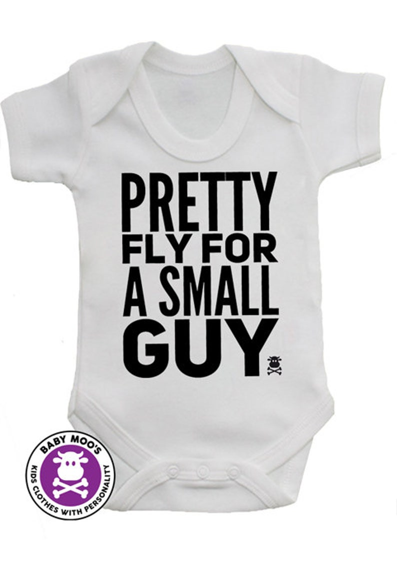693a1a208977 PRETTY FLY For A Small Guy Offspring Inspired Funny Boys Baby | Etsy