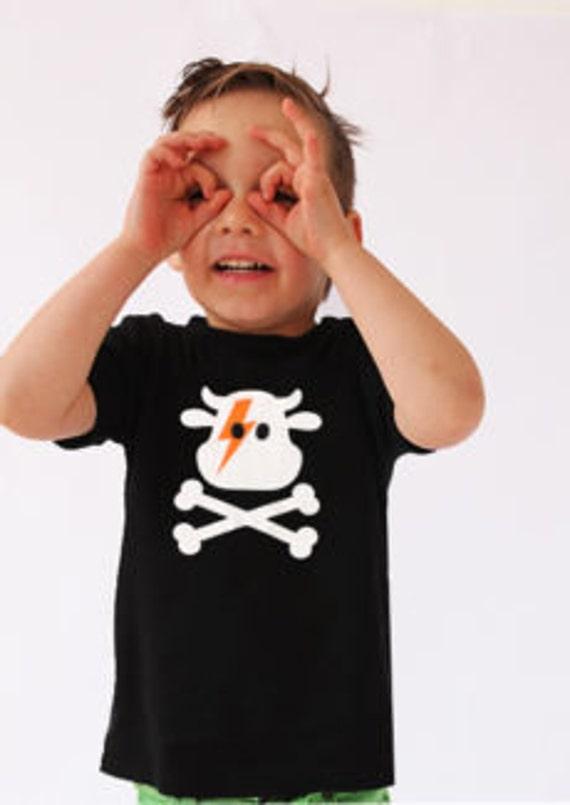 david bowie kids tee  Stardust Glitter t-shirt   unisex Ziggy Stardust inspired David Bowie fans cool kids fashion music