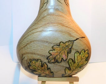 Hand Carved Original  in Native American inspiration