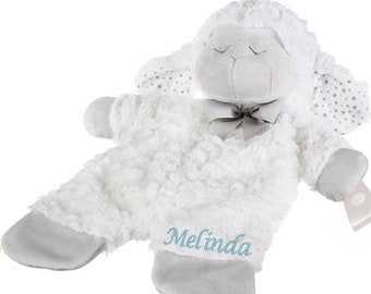 Personalized Lamb Pacifier holder