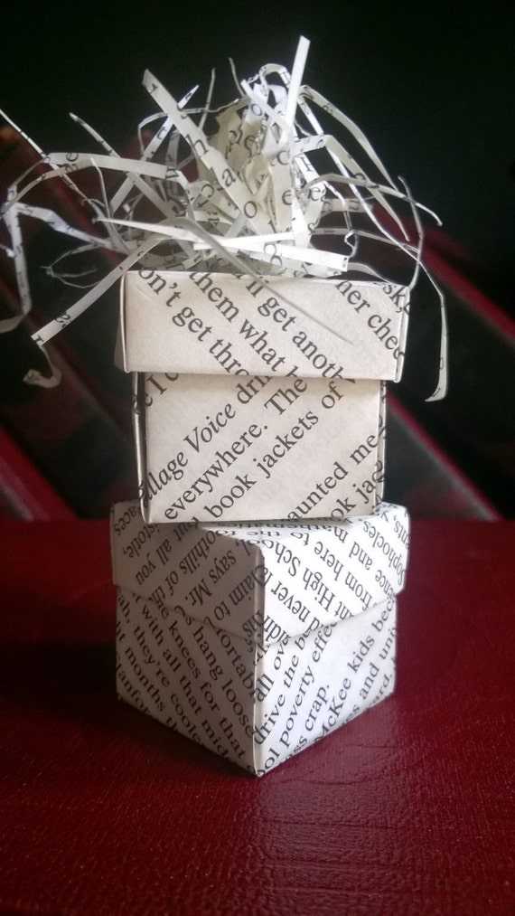 Party Favor Table Decor Small Hand Folded Book Pages Origami Etsy