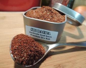 Sri Racha Hot & Sweet Sriracha Style Dry Rub In Tin