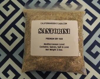Santorini Greek Herb Rub In Bag