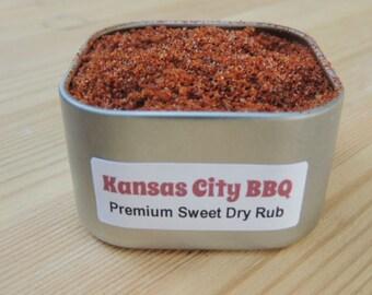 Kansas City BBQ Rub - Delicious Rub For Meat & Vegetables