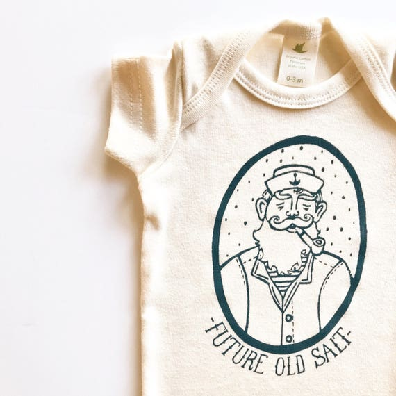 Future Old Salt Organic Cotton Bodysuit