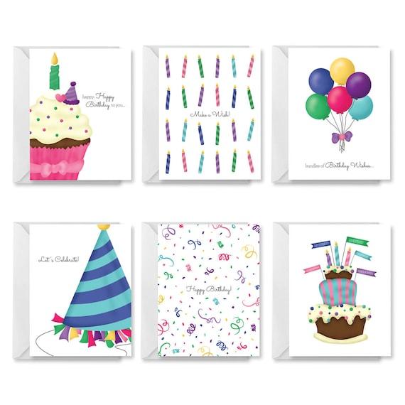 Printable Birthday Card PDF DIY