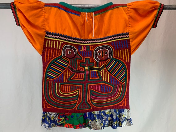 1960's mola blouse