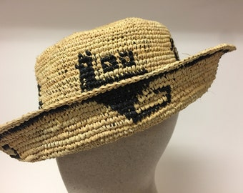 Handmade South American fiber haty