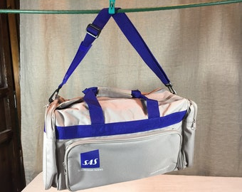 SAS 1980's carry on airline bag