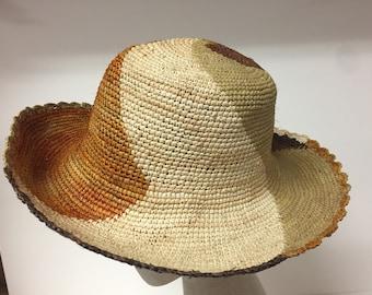 Handmade fiber hat from South America