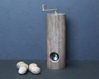 Nutmeg grinder made from Black walnut item no: MMUSC-1