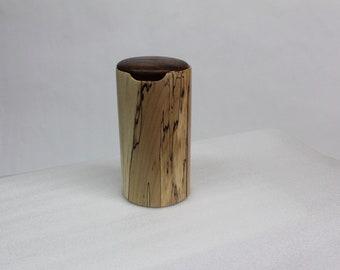 Cylinder  Box hand make, hand turned