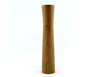 Spices and pepper mill in Cherry, Élégant style with rod mecanisme / 11  1/2 in article no: 405