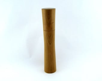 Spices and pepper mill in Cherry, Élégant style with rod mecanisme / 11  1/4 in article no: 399