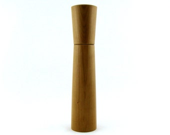 Spices and pepper mill in Cherry, Hourglass  style with rod mecanisme / 11  1/2 in article no: 404