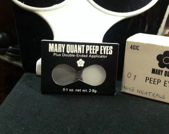 Mary Quant 60s DeadStock Peep Eyes in NMint Cond.
