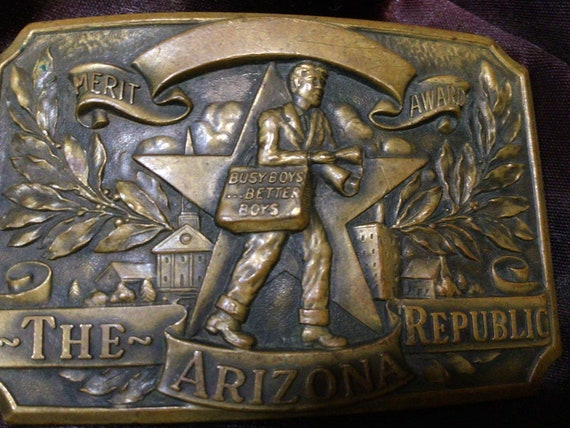 30s/40s Arizona Republic Newspaper Boys Award Buck