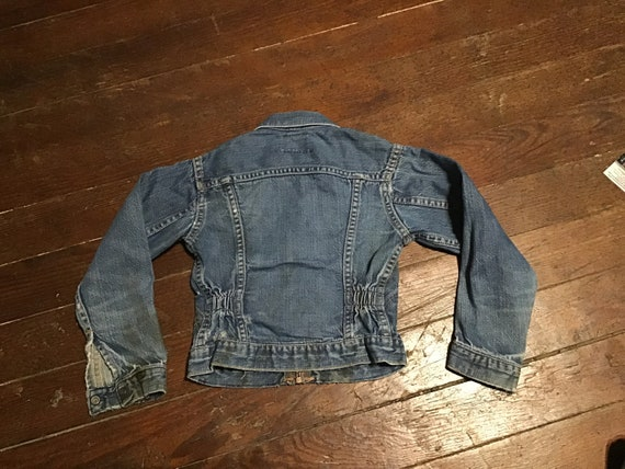 "50s Kid's Wrangler Western jacket 24"" chest - image 2"