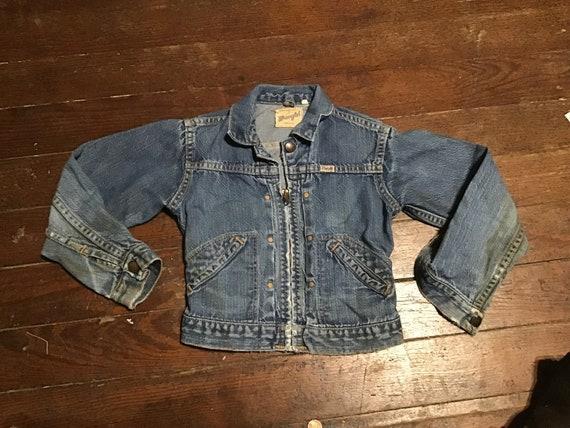 """50s Kid's Wrangler Western jacket 24"""" chest"""