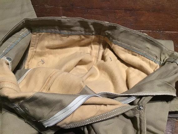"""Unused 50s women's Side Zip Jeans 24""""W x 24""""L - image 7"""