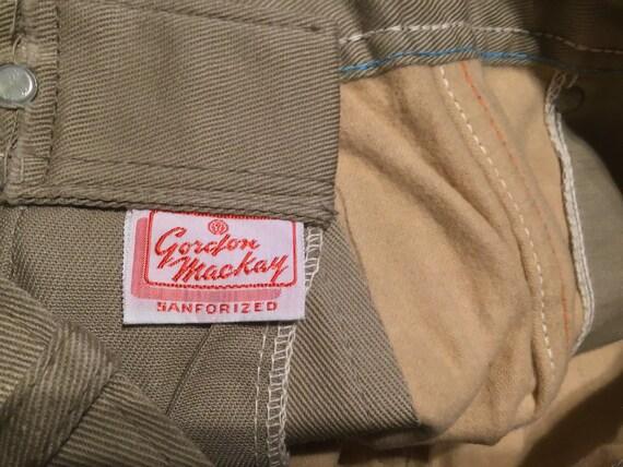 """Unused 50s women's Side Zip Jeans 24""""W x 24""""L - image 9"""