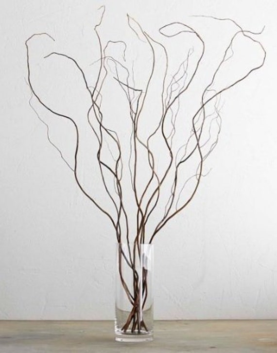 12 3ft Willow Branches Wedding Home Decor Woodland Rustic Etsy