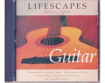 Lifescapes Relaxing Guitar by Emanuel Kiriakou CD 1996