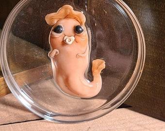 NEW- creepy Petri dish pals- paper weight specimen creature oddities
