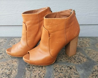 f4788d0716a Women s Zara Collection Leather Open Toe 4