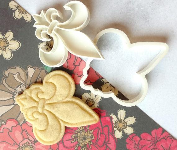 Fleur De Lis Boy Scout Symbol Cookie Cutter Etsy