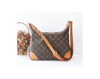343d2939b5c56 Auth Louis Vuitton Monogram boulogne Vintage Shoulder Handbag