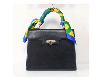 998d9d127b Valentino Garavani Bag Black Kelly Tote handbag authentic vintage purse