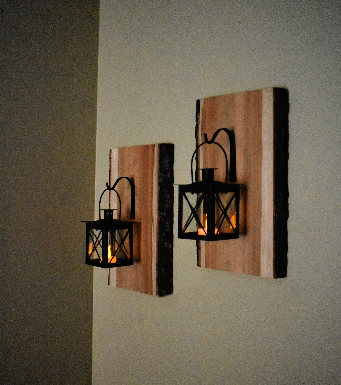 Circuit Wall Candleholder