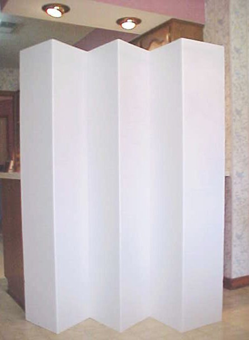 Tremendous Room Divider White Dorm Privacy Screen Partition 6 Ft Tall 6 Panel Download Free Architecture Designs Embacsunscenecom